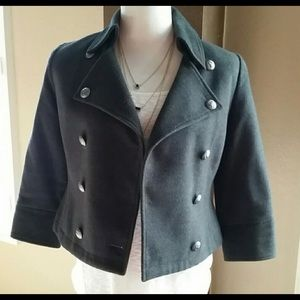 Forever 21 charcoal jacket in excellent condition